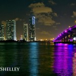 MacArthur Causeway and American Airlines Arena