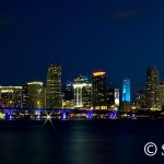 Panoramic Downtown Miami Skyline