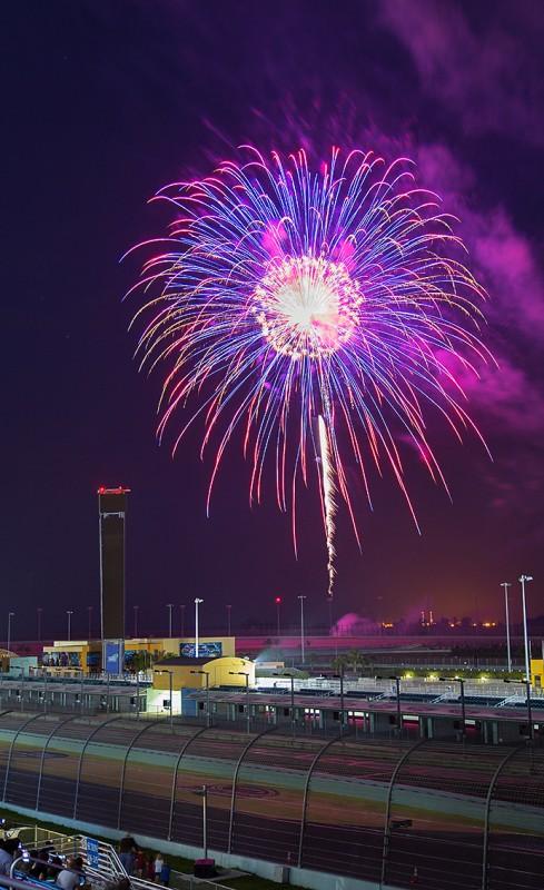 Homestead Miami Speedway Fireworks