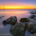Sand Key Beach Sunset Afterglow