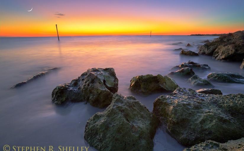 Sand Key Beach Sunset