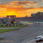 Homestead Miami Speedway Sunset